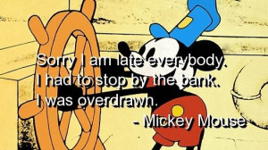 Mickey mouse, quotes, sayings, nice quote, cartoon, funny