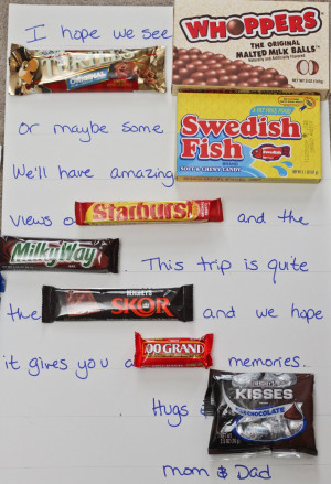Candy Bar Travel Poetry Tutorial