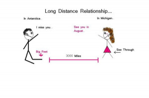 Long Distance Relationship Love Farewell
