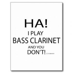 normal bass clarinet player button