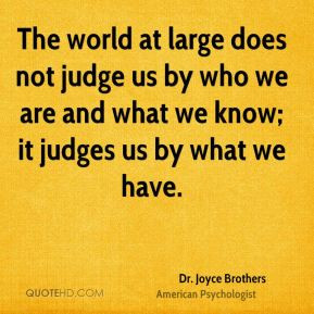 More Dr. Joyce Brothers Quotes