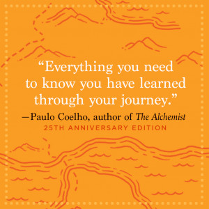 paulo coelho quote on life's journey