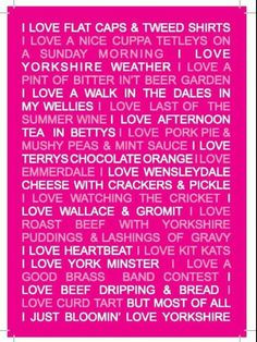 Yorkshire Sayings!