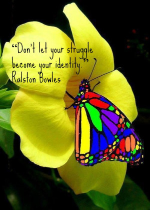Colorful Butterfly amp Quote jpg