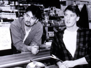Clerks , 1994 - Brian O'Halloran (Dante) and Jeff Anderson (Randall)
