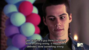 Teen Wolf Quotes Stiles Then you should