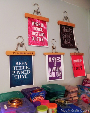 Craft Room Quotes...