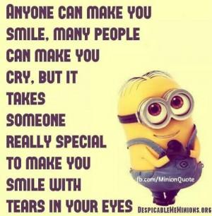 cute love minion quote