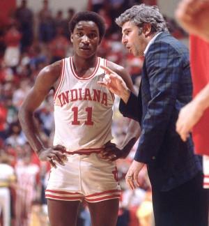 Isiah Thomas & Bobby Knight
