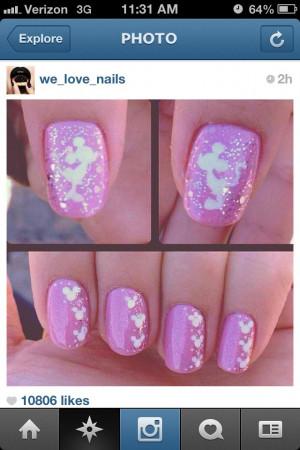 Disney nail art, check this out Ruth
