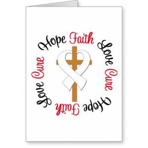 Lung Cancer Faith Hope Love