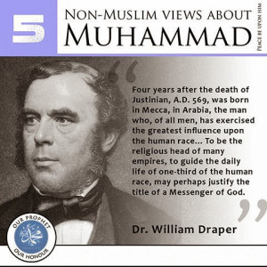 Quotes-Dr.William-Draper-Prophet-Muhammad.jpg (480×480)