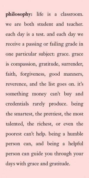 everydaygrace #upliftingphilosophy @philosophyskincare
