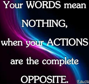Your Words Mean Nothing,