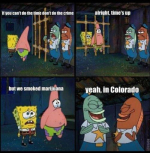 Spongebob Weed Memes