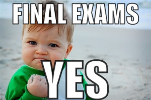 ... (and all students): Preparing for Finals Workshop – this Thursday