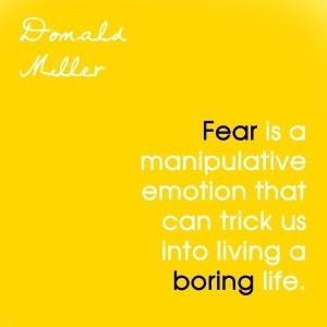 Fear is a manipulative emotion that should NOT be there. Get out, and ...