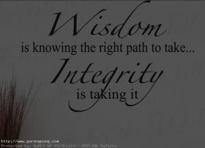 Integrity Quotes