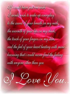 Love You Love Poem