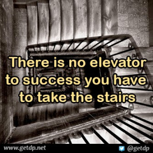 There Elevator Success You