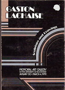 Gaston Lachaise Sculpture And Drawings Museum Book Memorial Art