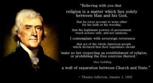 Freedom Of Religion Quotes Thomas Jefferson Religion quotes : page 41