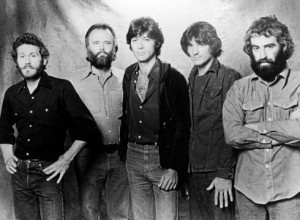 The Band included Levon Helm, Garth Hudson, Robbie Robertson, Rick ...