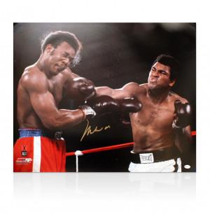 Signed Photo Muhammad Ali...