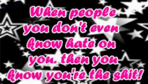 Hater Quote Images, Graphics, Comments and Pictures
