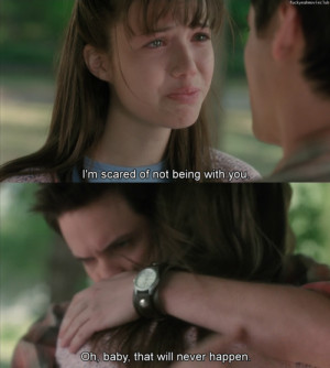 ... , love, love quotes, movie, movies, perfect, quote, sad, text, words