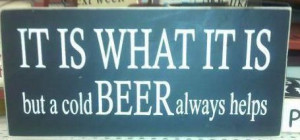 Life philosophy or beer philosophy?