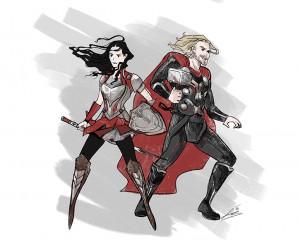 Thor & Sif