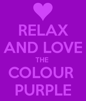Go Back > Gallery For > I Love The Color Purple
