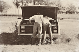 country couple love