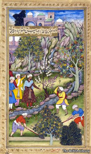 Babur, the first Moghul emperor