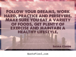 Sasha Cohen Motivational Print Quote On Canvas