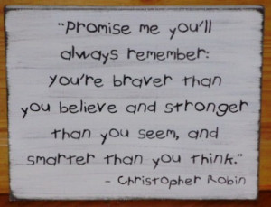 _christopher_robin_sign_promise_me_inspirational_new_baby_gift_shower ...