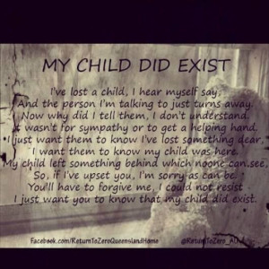 Loss Of A Child- can't keep our baby a secret, please don't tell me to ...
