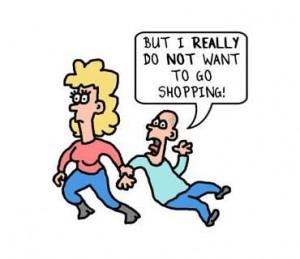 No shopping please