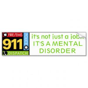 911 Operator Car Bumper Sticker