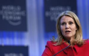 Denmark's Prime Minister Helle Thorning-Schmidt speaks during the ...