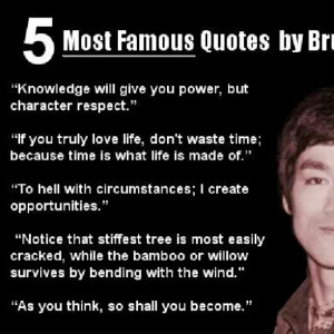 Photo: 5 # Quotes by Bruce Lee # brucelee (Taken with Instagram)