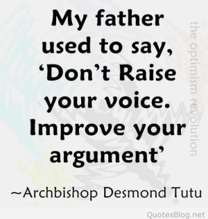 Parental good advice