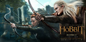 ... in a promotional poster for The Hobbit: The Desolation of Smaug