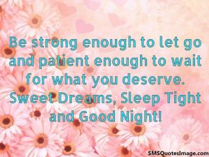 Sleep Tight and Good Night...