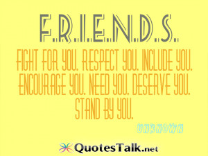 ... you. Include you. Encourage you. Need you. Deserve you. Stand by you