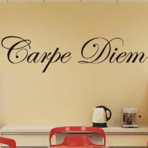 Color Life1102 Carpe Diem Vinyl Wall Decals Quotes Sayings