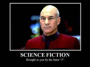 Science Fiction: Brought to you by the letter