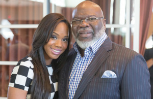 ... Jakes, daughter of Bishop TD Jakes, one of the most influential mega