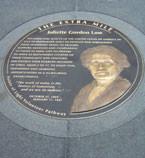 The Juliette Gordon Low commemorative medallion, part of the Extra ...